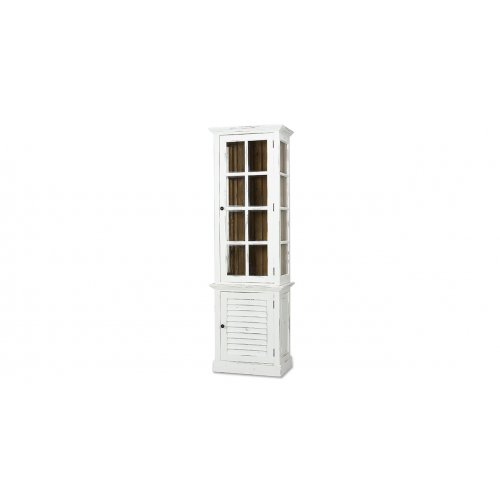 Cottage Tall Cabinet w/Glass