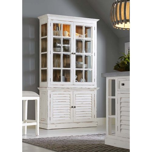 2 Door Cottage Cabinet w/...