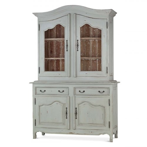 Baroque Armoire w/ 2 Glass...