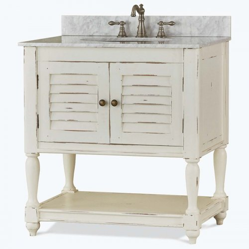 Cottage Guest Vanity with...