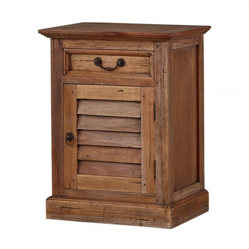 Small Shutter Nightstand...