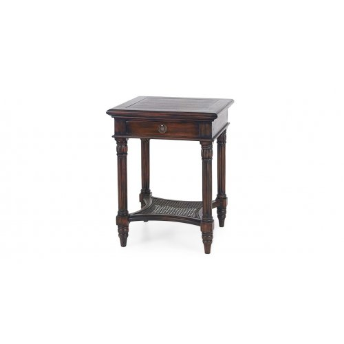 Montego Square End Table w/...