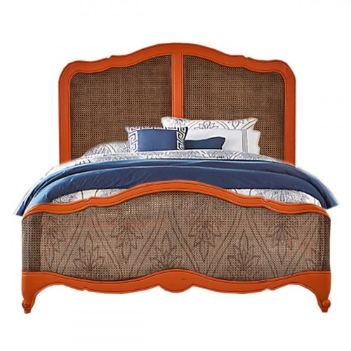 Covington Rattan Queen Bed
