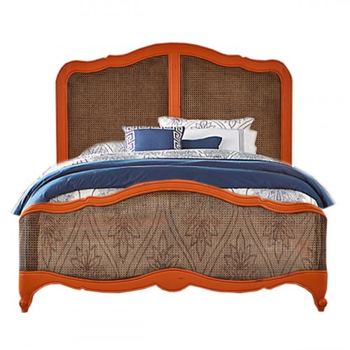 Covington Rattan Bed  - King
