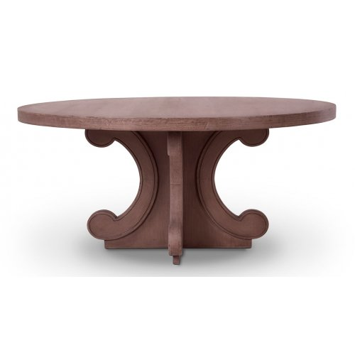 Romulus Round Dining Table 72""