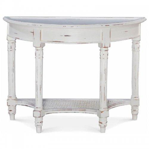 Montego Demi-lune Sofa Table
