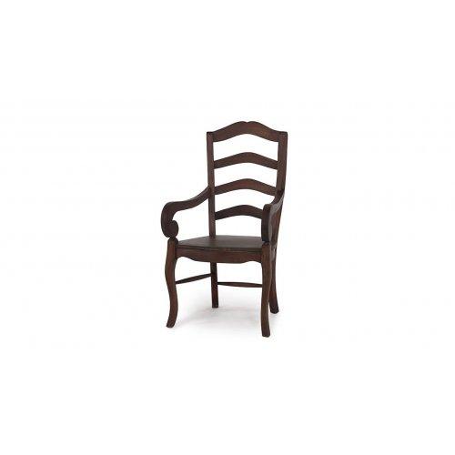 Ladder Back Chair w/ Arm w/...