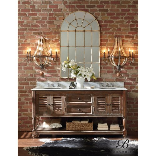Cottage Master Vanity with...
